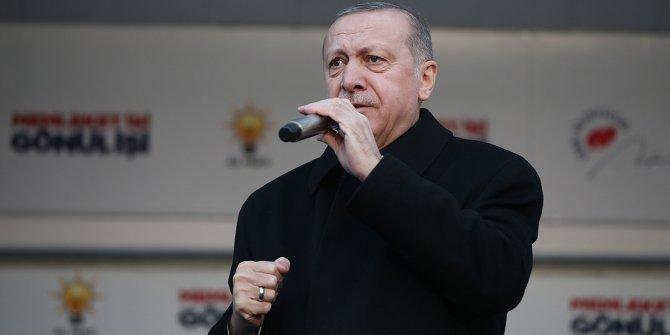 """Erdoğan, """"Sizin ittifakınız gün gibi ortada. Biz sizi sesinizden tanırız.""""!"""