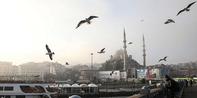 Son dakika... İstanbul'da beklenen kar yağışı başladı