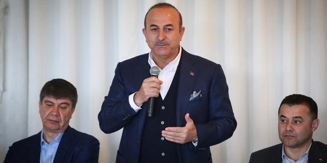 Bakan Çavuşoğlu: (Millet İttifakı) Bu ittifakı yöneten FETÖ'dür