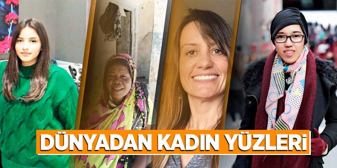 Dünyadan Kadın Yüzleri
