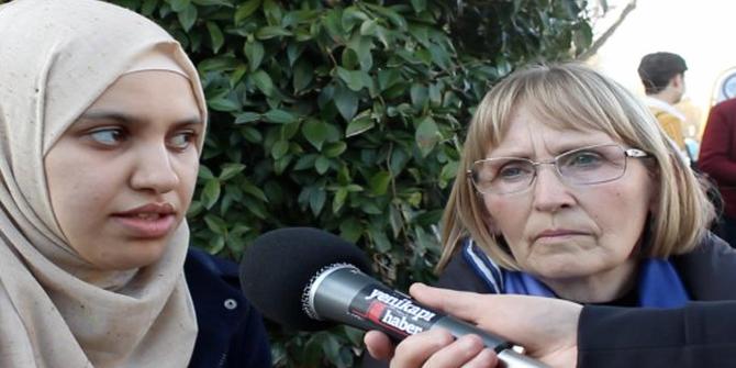 Srebrenitsa Anneleri'nden Suriyeli annelere destek
