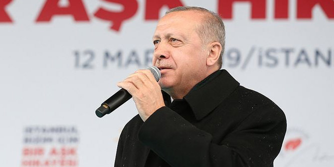 Cumhurbaşkanı Erdoğan Çanakkale'de konuşuyor