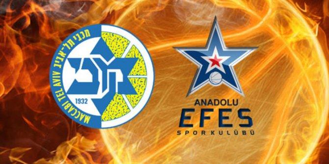 Maccabi Tel Aviv Anadolu Efes maçı ne zaman saat kaçta hangi kanalda?