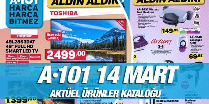 A101 14 Mart Aktüel Kataloğu Aldın Aldın