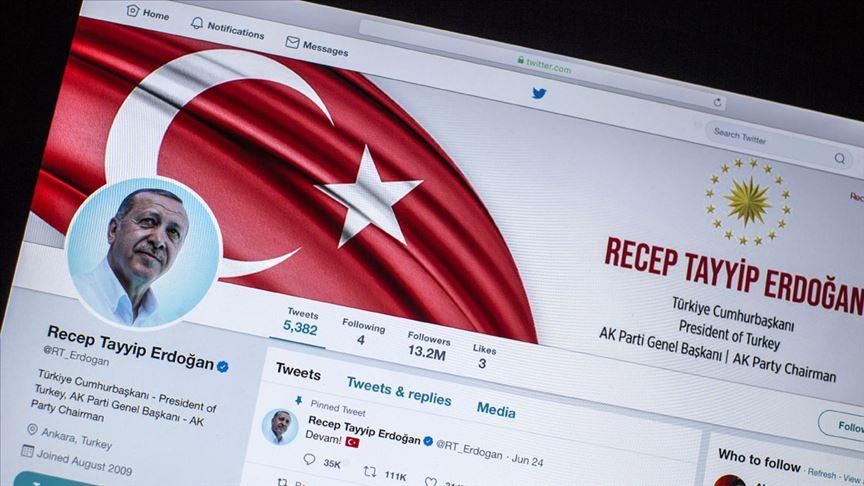Cumhurbaşkanı Erdoğan'dan Twitter'da sorulan soruya yanıt