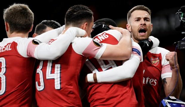 Arsenal'den 3 gollü geri dönüş!