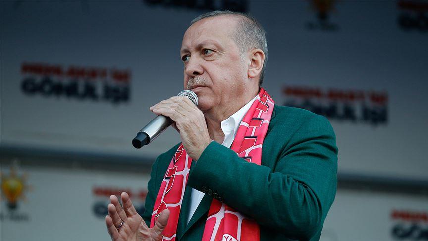Cumhurbaşkanı Erdoğan: Oy için bölücülere taşeronluk yapanlar mücadelemizi idrak edemez