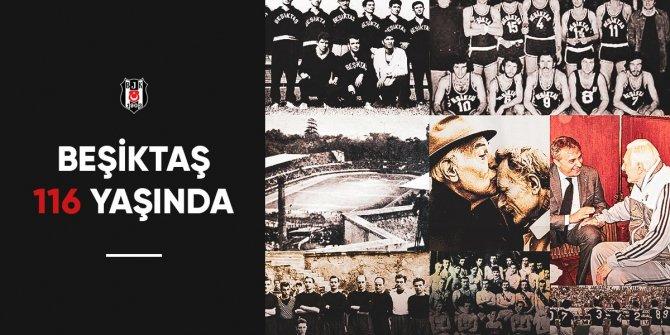 Siyah-beyazlı kulübün 116. kuruluş yıl dönümü!