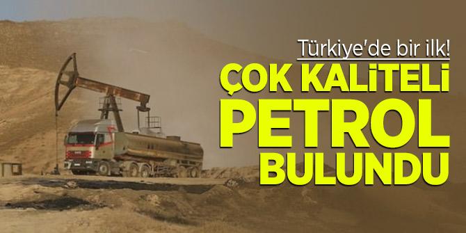 Türkiye'de bir ilk! Çok kaliteli petrol bulundu