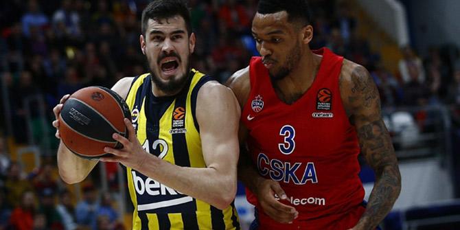 Fenerbahçe Beko, Moskova'da 4 maç sonra kaybetti!