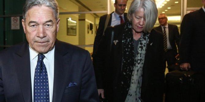 Yeni Zelanda Dışişleri Bakanı Peters İstanbul'a geldi