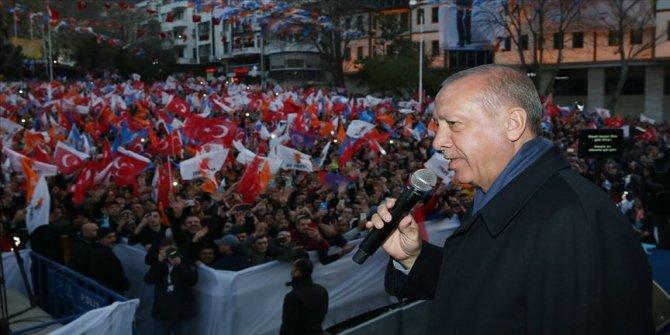 Cumhurbaşkanı Erdoğan: Artık dünyada hiçbir yerin..