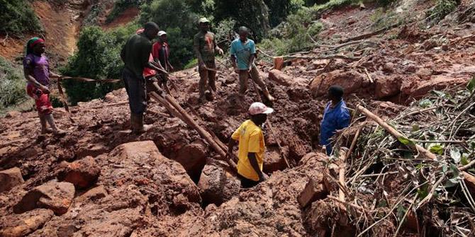 Zimbabve'de hortum nedeniyle 145 kişinin daha cesedine ulaşıldı