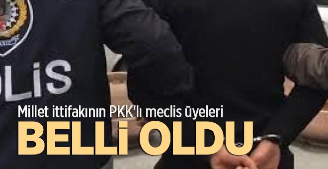 PKK'lı meclis üyeleri belirlendi…