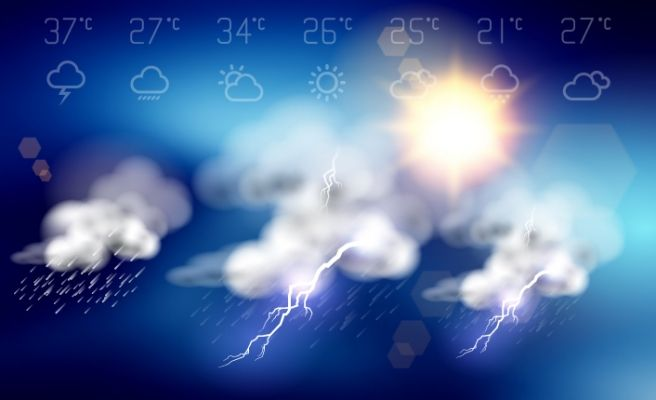 Bugün hava nasıl olacak? 25 Mart Pazatesi yurt genelinde hava durumu