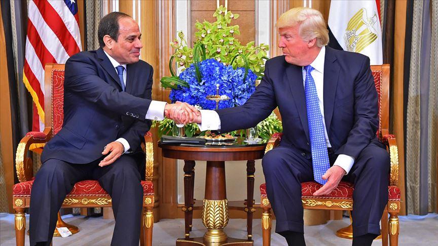 ABD Başkanı Donald Trump ile Sisi görüşecek