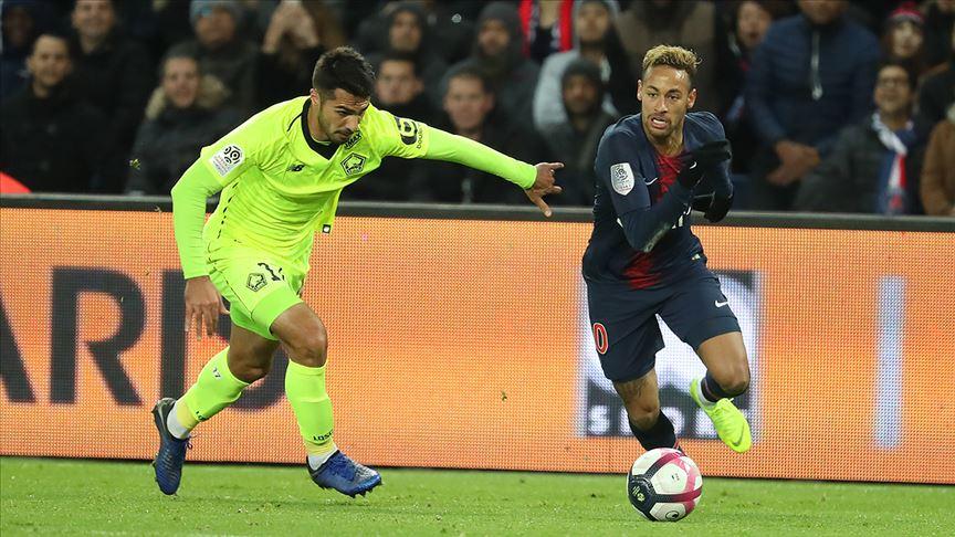Lille, PSG'ye şampiyonluk turu için izin vermedi