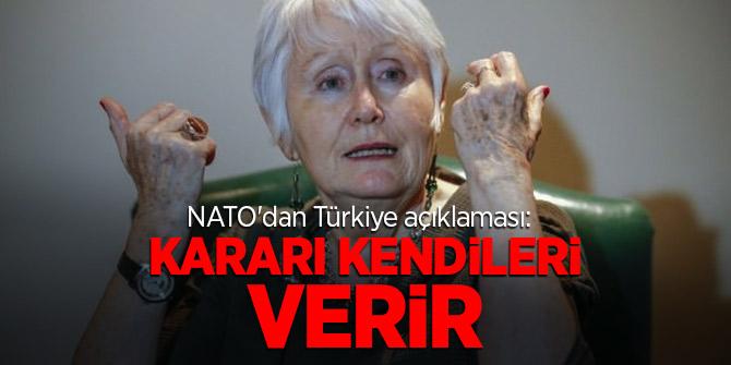 NATO'dan Türkiye açıklaması: Kararı kendileri verir