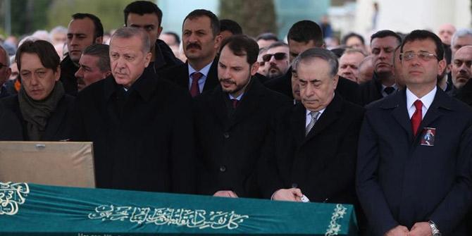 Cumhurbaşkanı Erdoğan ve İmamoğlu aynı karede