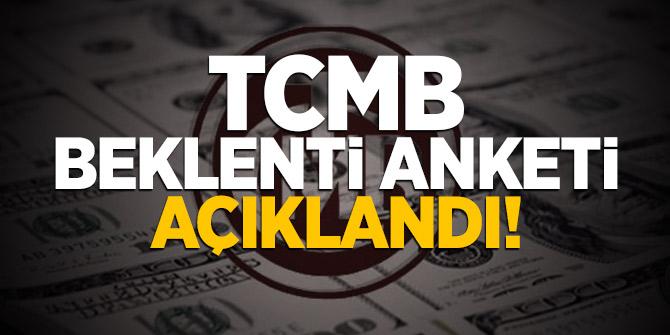 TCMB beklenti anketi açıklandı! İşte dolar ve büyüme tahmini