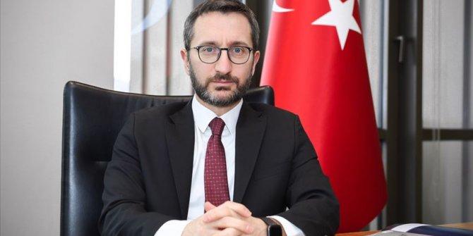 Cumhurbaşkanlığı İletişim Başkanı Altun'dan şehit askerler için başsağlığı