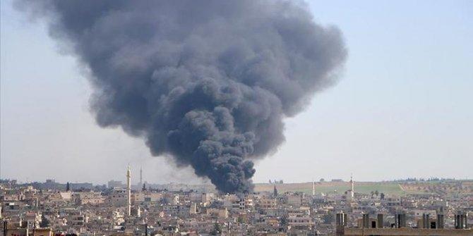 İdlib'in Felyün ve Kurin köylerine hava saldırıları düzenlendi!