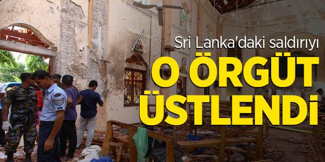 Sri Lanka'daki saldırıyı o örgüt üstlendi