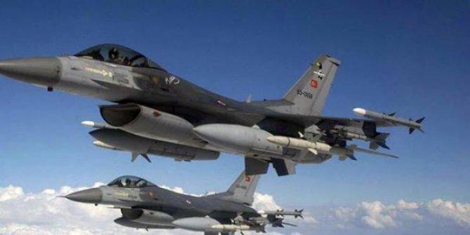 Irak'ın kuzeyi Hakurk'ta terör hedefleri imha edildi