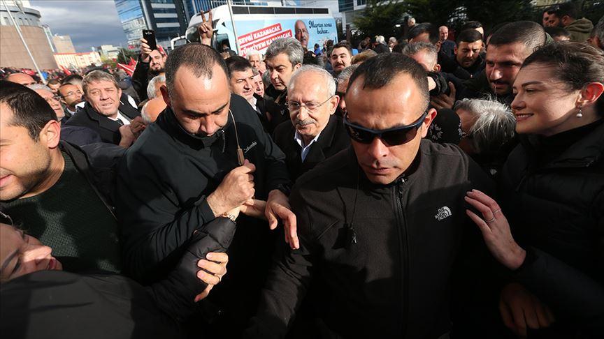 Kılıçdaroğlu'na saldırının şüphelisi savcılığa sevk edildi