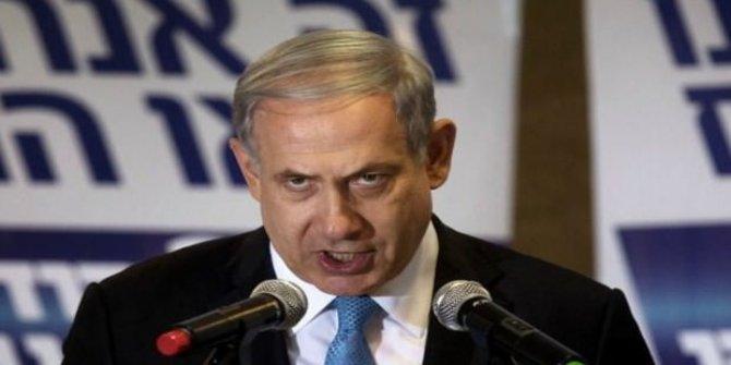 Netanyahu mitingini roket alarmı nedeniyle yarıda kesti