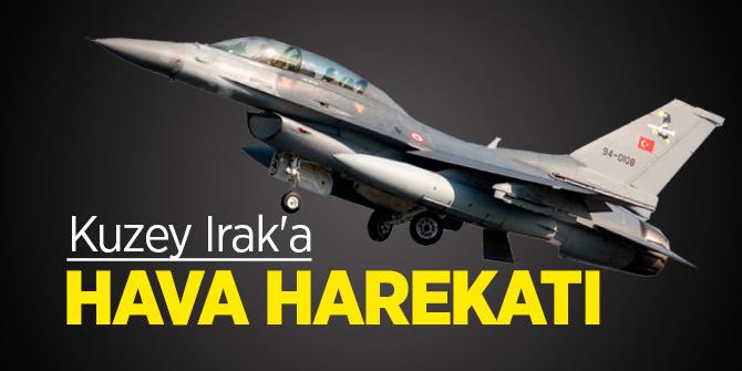 Irak'ın kuzeyine düzenlenen hava harekatında 15 terörist etkisiz hale getirildi!