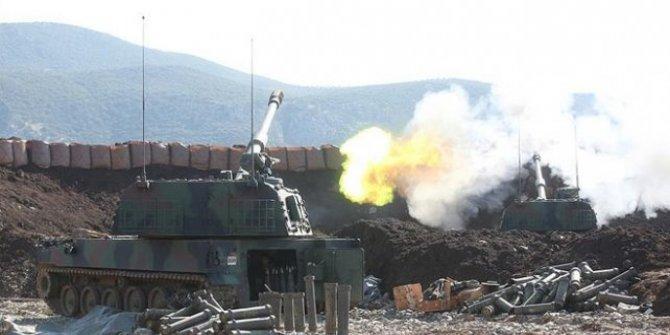 TSK, Tel Rıfat'taki terör hedeflerini vuruyor!