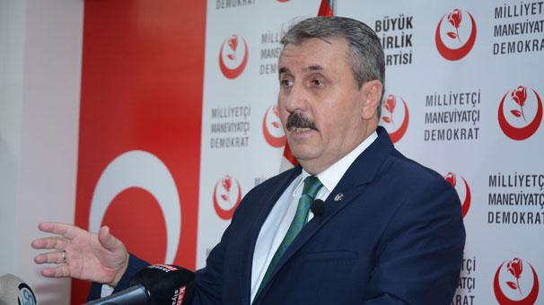 Mustafa Destici'den 23 Haziran açıklaması! 'Bizim durduğumuz yer aynı'