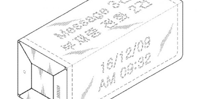 Samsung katlanıldığında tuğlaya benzeyen ekran patenti aldı