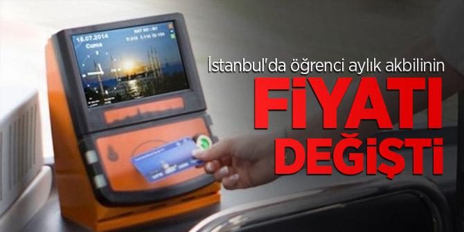 İstanbul'da öğrenci aylık akbili 40 lira oldu