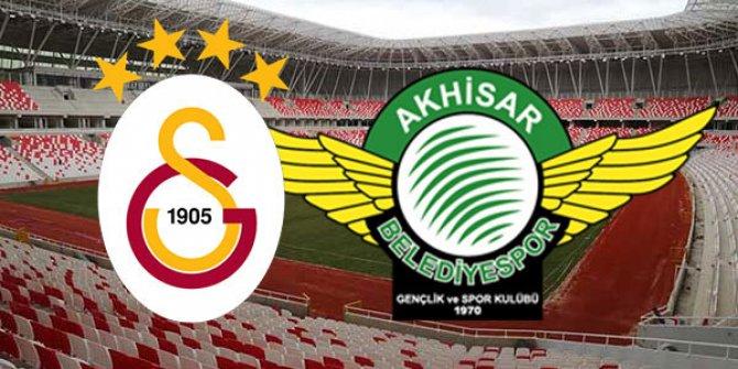 Galatasaray Akhisarspor Ziraat Türkiye Kupası Final maçı / CANLI