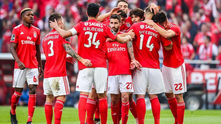 Portekiz'de şampiyon Benfica oldu!