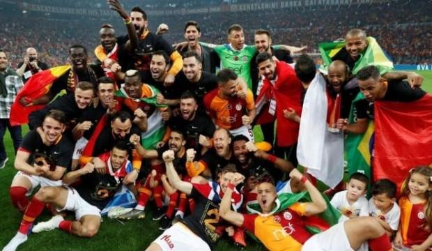 Galatasaray'da 15 isim ilk kez şampiyon!