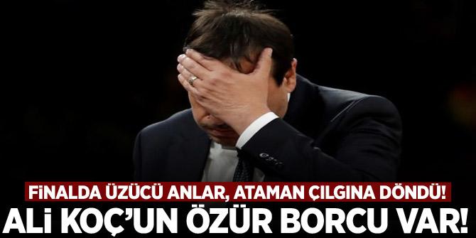 Ergin Ataman çılgına döndü! 'Ali Koç'un bana özür borcu var'