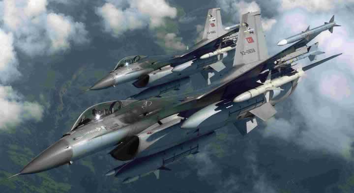 Terör örgütü PKK'nın mevzilerine hava harekatı düzenlendi