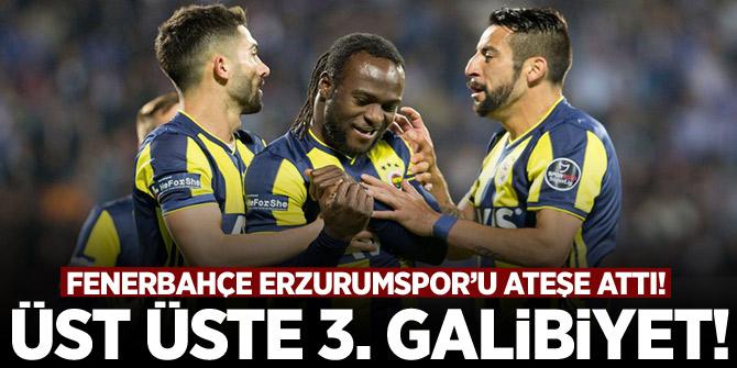 Fenerbahçe üst üste 3. galibiyetini aldı!