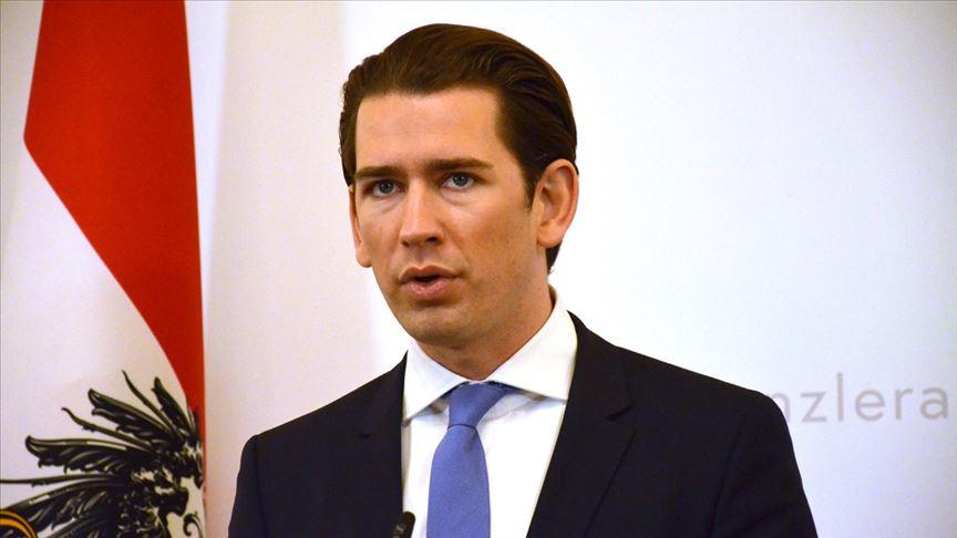 Avusturya'da yönetim krizi