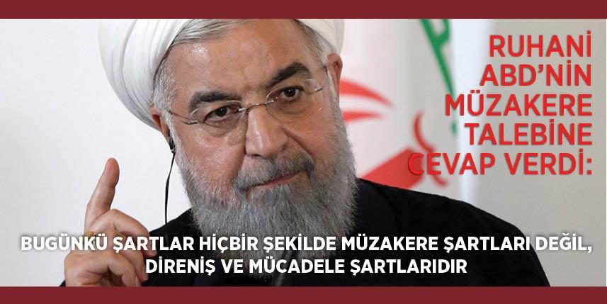 Ruhani: 5 büyük ülke lideri Trump'la görüşmem için aracı oldu