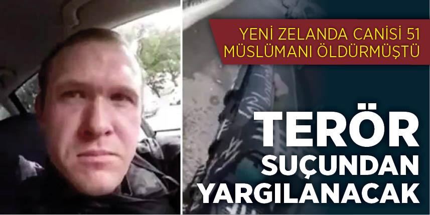 Yeni Zelanda saldırganı terörizmle suçlanacak