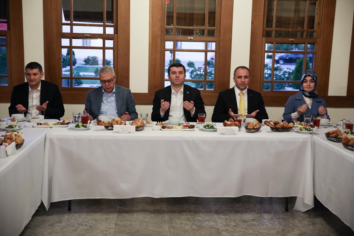 Türk heyeti Washington'da DCA'deki iftara katıldı