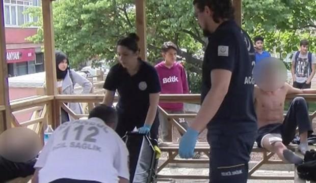 Üsküdar'da liseliler birbirine girdi! 3 öğrenci bıçaklandı