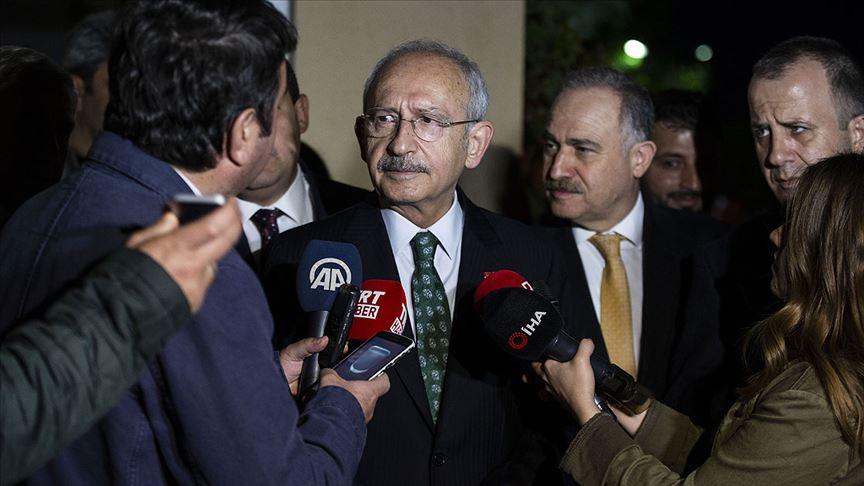 Kılıçdaroğlu'ndan YSK'nın gerekçeli kararına ilk yorum