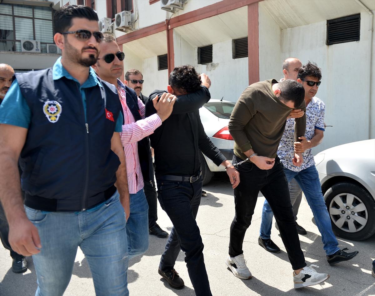 İş adamlarına gasp ve şantaja tutuklama