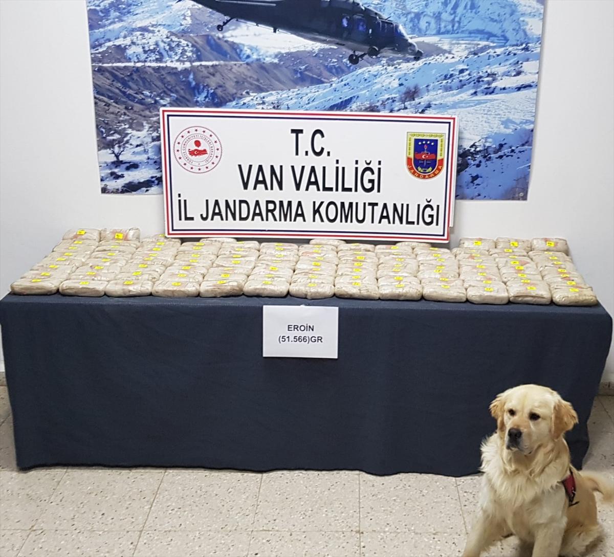 Van'da 51 kilo 566 gram eroin ele geçirildi