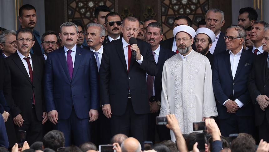 Cumhurbaşkanı Erdoğan: Bu sandığın hakkını vereceğiz